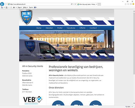 CLIM.nl portfolio: All-in Security Venlo